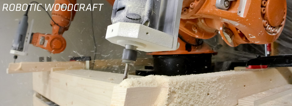 Robotic Woodcraft -